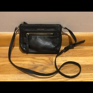 Cole Haan small leather crossbody bag